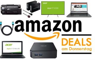 Amazon Deals Donnerstag