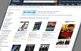 Kategorie 4K Blu-ray auf Amazon.de