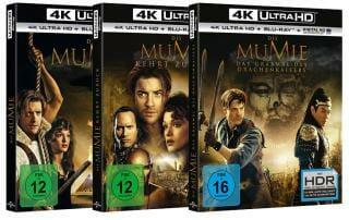 Die Mumie Trilogie auf UHD Blu-ray mit HDR und DTS:X