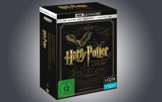 Harry Potter 5 bis 8 auf 4K Blu-ray in einer exklusiven 4 Filme Collection
