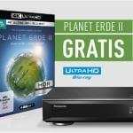 Planet Erde 2 gratis beim Kauf eines UHD Blu-ray Recorders