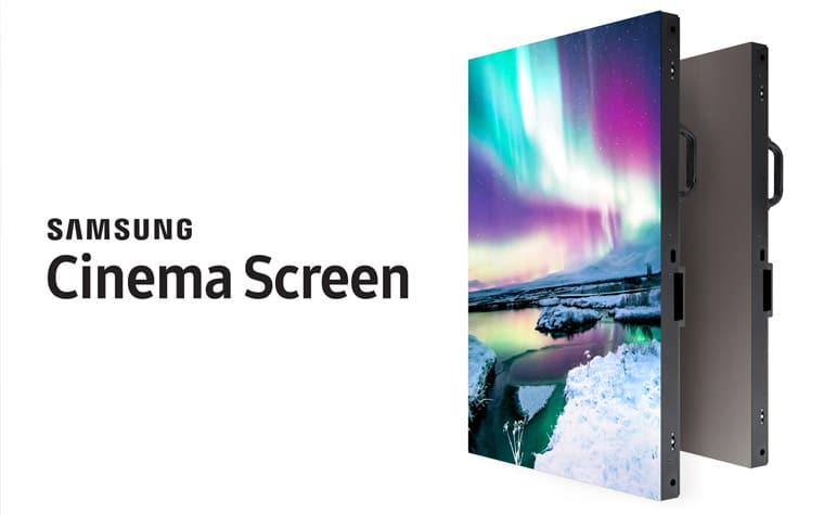 Samsung Cinema Screen - 4K LCD HDR Display für Kinos
