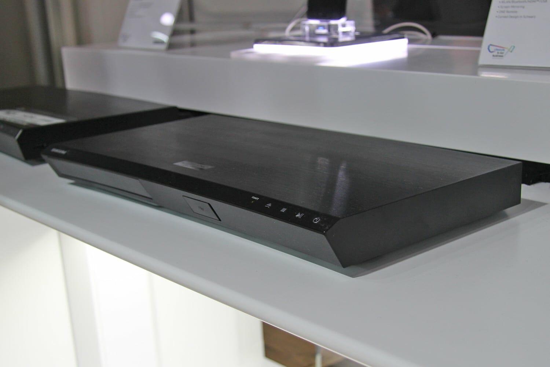 Samsung UBD-M8500 auf der Samsung Roadshow im März 2017