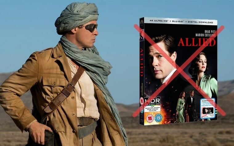 Allied Vertraute Fremde erscheint nicht auf 4K UHD Blu-ray