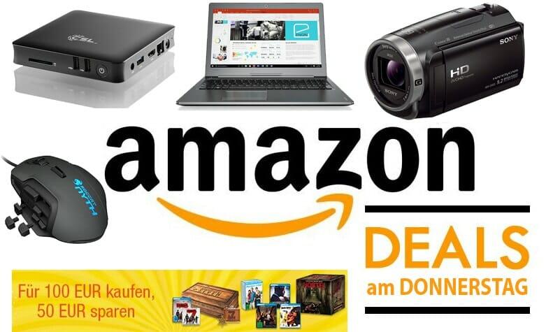Amazon Deals am Donnerstag