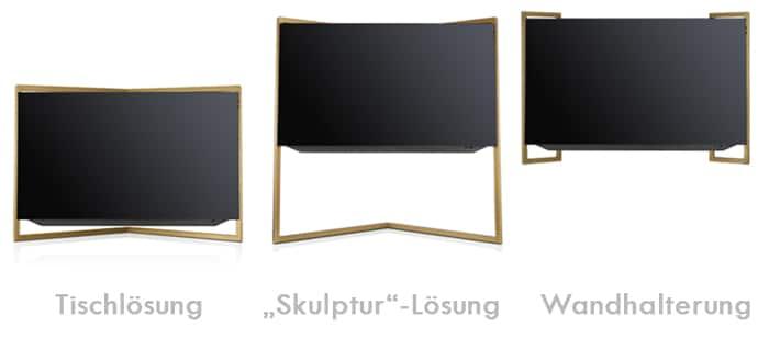 Bild 9 - Erhältlich in drei Aufstellung-Varianten