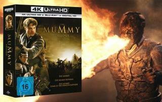 Die Mumie Trilogie auf 4K Blu-ray!