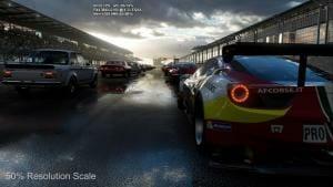 Die Forza Motorsport 6 Portierung für Scorpio lief fast Out-of-the-Box ohne Probleme mit 4K/60p