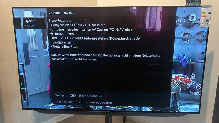 Das große Firmware-Update für Loewes bild 7 bringt Dolby Vision, HDR10 und HLG auf den TV. Bildquelle: grobi.tv
