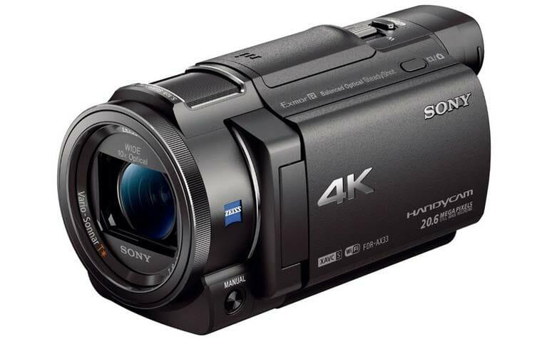 Sony FDR-AX33 zum Bestpreis auf Amazon.de
