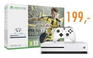 Xbox ONE S für 199 EUR