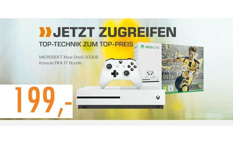 Xbox ONE S 199 Euro