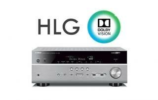 Yamaha HLG & Dolby Vision Update für ausgewählte AV-Receiver