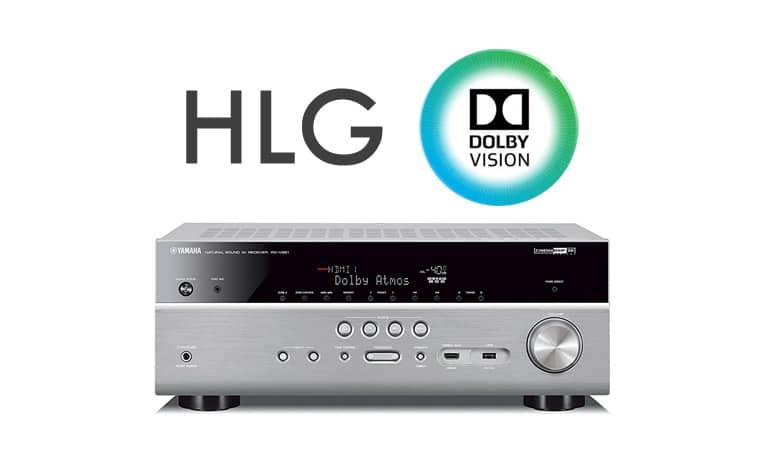 yamaha k ndigt dolby vision hlg update f r av receiver. Black Bedroom Furniture Sets. Home Design Ideas