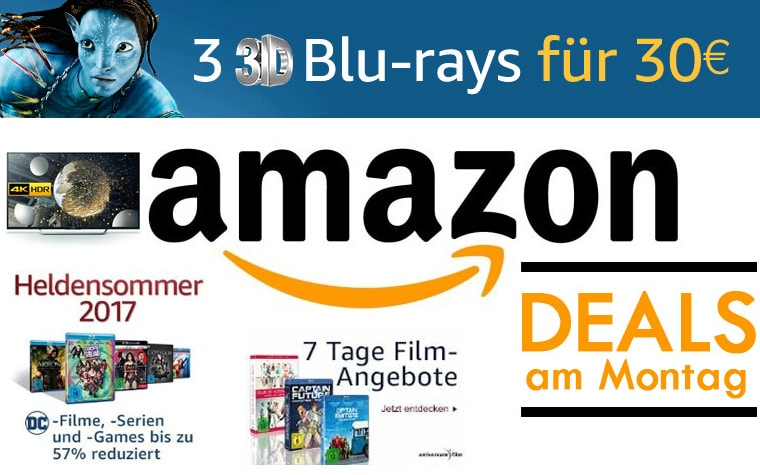 Amazon Deals am Montag den 19. Juni 2017
