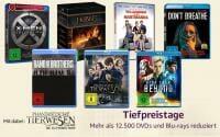 Amazon Tiefpreistage mit über 12.500 reduzierten DVDs & Blu-rays