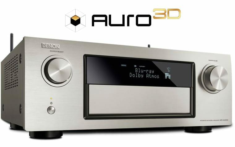 Denon & Marantz AV-Receiver erhalten kostenloses Auro 3D Update