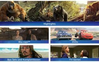 Disney Aktion auf Amazon.de