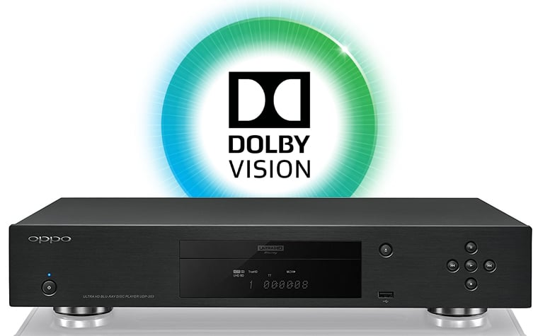 Dolby Vision auf dem Oppo UDP-203