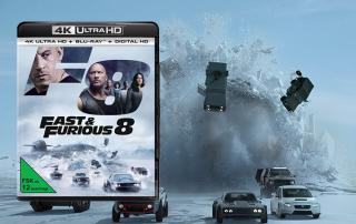 Fast & Furious 8 kommt mit Dolby Vision HDR