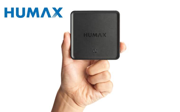 Der HUMAX H1 Multimediareceiver ermöglicht die Nutzung des HD+ Signals auf einem zusätzlichem Gerät