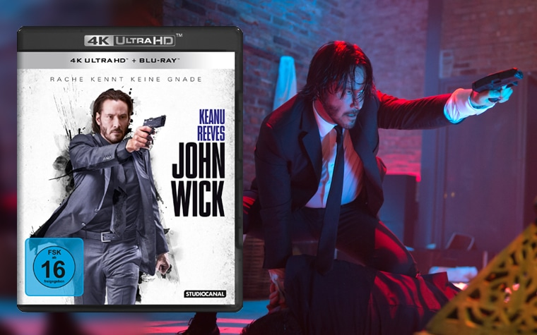 John Wick 4K Blu-ray Review