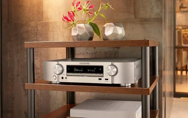 marantz nr1608 nr1508 kompakte av receiver mit dolby vision hlg 4k filme. Black Bedroom Furniture Sets. Home Design Ideas