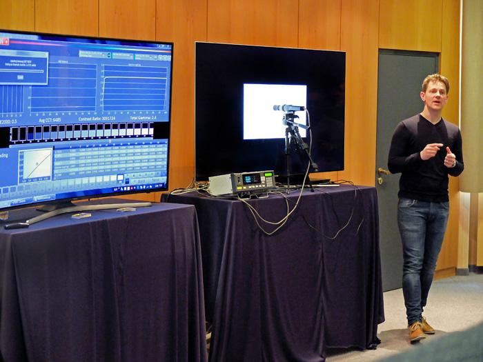 Kalibrierung eines QLED TVs (2017) mit CalMAN AutoCal