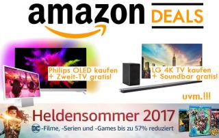 Amazon Deals am Montag mit Philips OLED + Zweit TV gratis uvm.