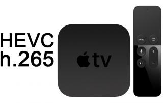 Apple 4K Streaming Service mit HEVC?