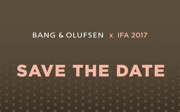 Der BeoVision Eclipse OLED TV soll im Rahmen des IFA Presse-Events vorgestellt werden