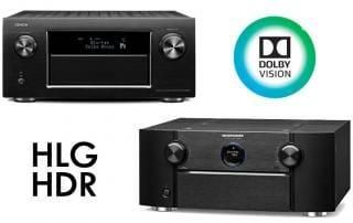 Denon Marantz liefern kostenloses Dolby Vision / HLG Update für Premium AV Receiver