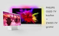Philips OLED TV kaufen und Zweit-TV gratis erhalten!