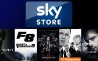 Der Sky Store verkauft digitale Filme inkl. dazugehöriger DVD/Blu-ray