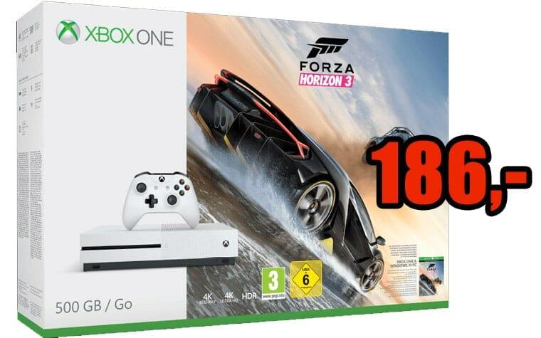 Xbox ONE S für 186 Euro - Top-Preis