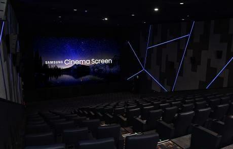 Das Samsung Cinema LED Display unterstützt Cinema 4K und HDR