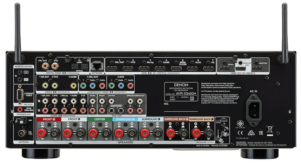 Denon AVR-X3400H 7.2 AV-Receiver