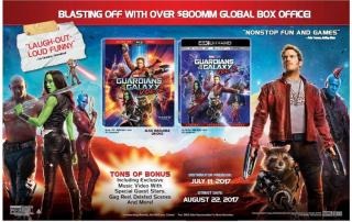 """Guardians of the Galaxy Vol. 2"" von Disney erscheint auf 4K Blu-ray"