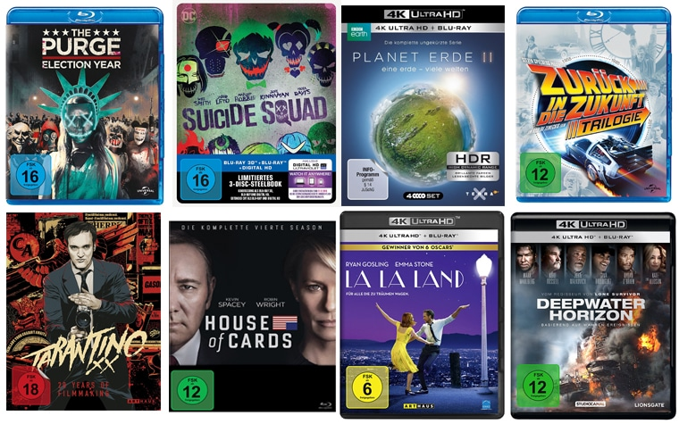 HD & 4K Blu-rays Amazon Prime Day