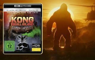 Kong Skull Island auf 4K Blu-ray