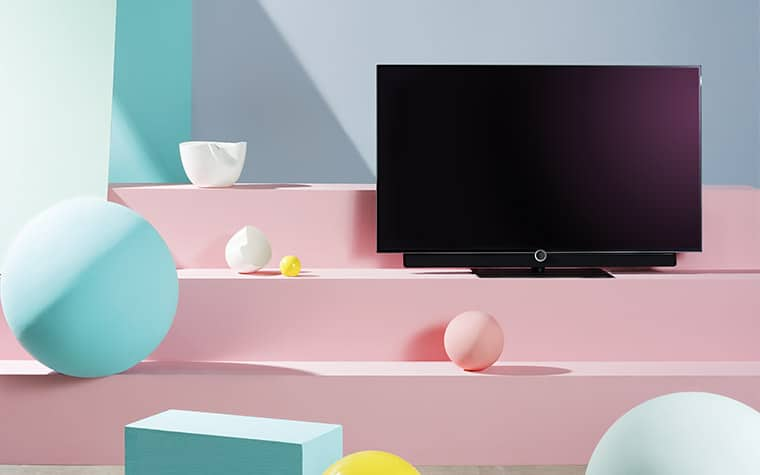 loewe bild 4 oled tv mit 55 zoll liefert out of the box. Black Bedroom Furniture Sets. Home Design Ideas