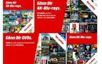 MediaMart 3 fuer 2 Aktion auf DVDs, Blu-rays und 4K UHD Blu-rays!!!
