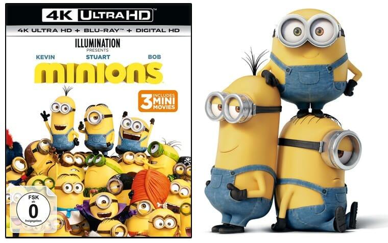 Minions auf 4K UHD Blu-ray