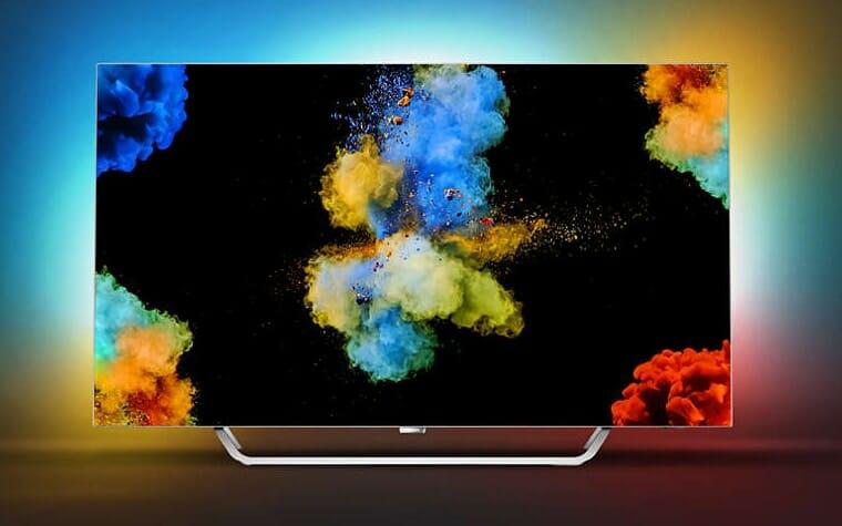 55POS9002 4K OLED TV 2017 von Philips