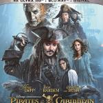 "US Cover zur 4K UHD Blu-ray von ""Pirates of the Caribbean 5: Salazars Rache"""
