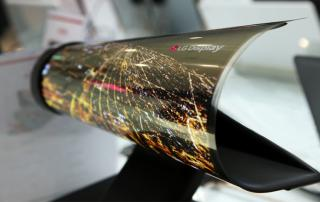 Rollbare OLED Displays von LG Display bis 2020