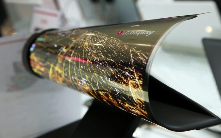 Rollbare OLED Displays von LG Display bis 2020