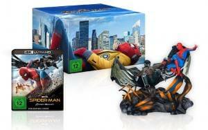Spider-Man Homecoming 4K UHD Blu-ray inkl. Figur