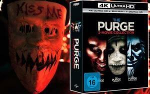 The Purge Trilogie auf 4K UHD blu-ray ab 21. September 2017