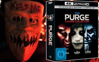 The Purge Trilogie auf 4K UHD blu-ray ab 21. September 2017